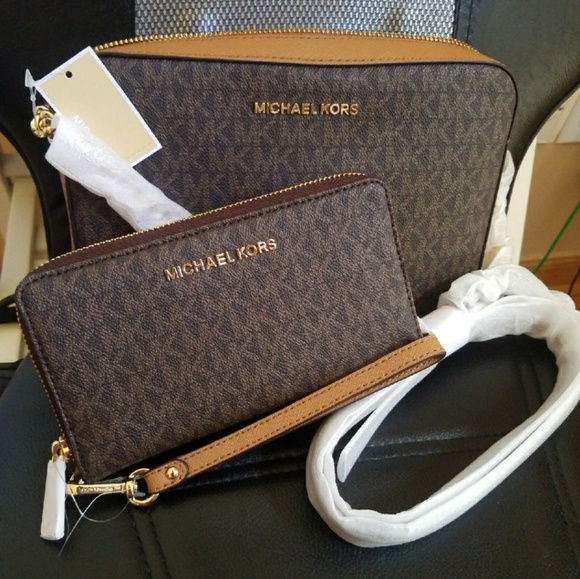 BLACK FRIDAY SALE set wallet+bag michael kors mk NWT